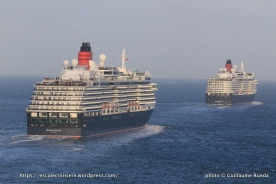 175 ans Cunard - Queen Victoria - Queen Elizabeth