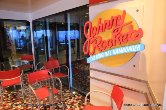 Anthem of the Seas - Johnny Rockets