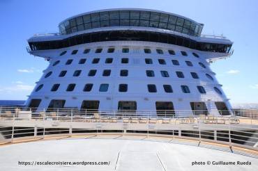 Anthem of the Seas - Passerelle