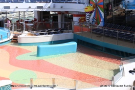 Anthem of the Seas - Piscine à vague pour enfants