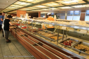 Celestyal Odyssey - Buffet self-service