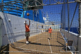 Celestyal Odyssey - Terrain de basket extérieur