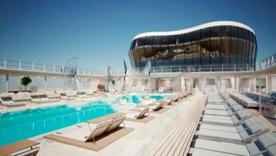 MSC Meraviglia piscine