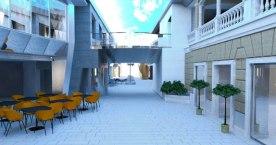 MSC Meraviglia - promenade - Ecran LED Géant