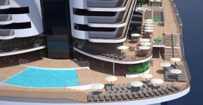 MSC Seaside - Promenade 360