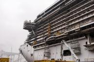 MSC Seaside - Chantiers Fincantieri de Monfalcone - Février 2017