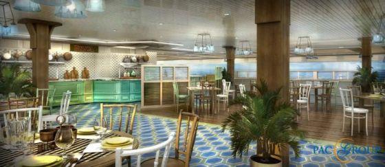 MSC Seaside - Restaurant
