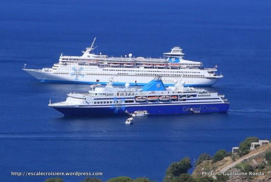 Patmos - Celestyal Odyssey et Celestyal Olympia