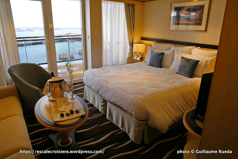 Cabine - Queen Mary 2