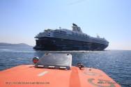 Mein Schiff 2 - Toulon - débarquement des passagers