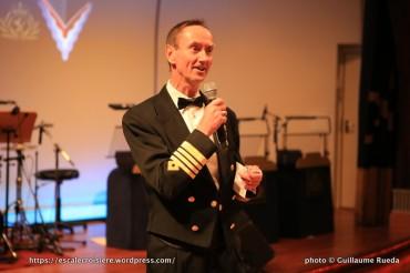 Chris Wells - Commandant du Queen Mary 2