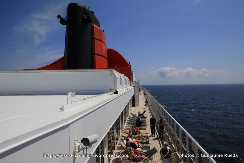 Queen Mary 2 - Cheminée