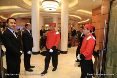 Queen Mary 2 - Cunard Groom
