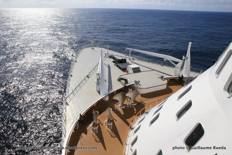 Queen Mary 2 - Observation deck