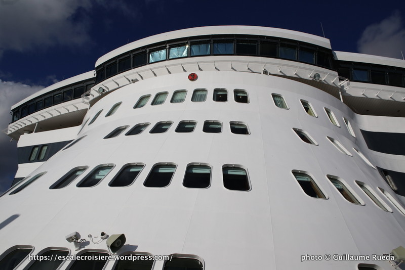 Queen Mary 2 - Passerelle - Proue