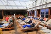 Queen Mary 2 - Piscine intérieure - Pavilion pool