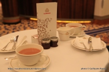 Queen Mary 2 - Tea time - Cérémonie du thé - Afternoon tea