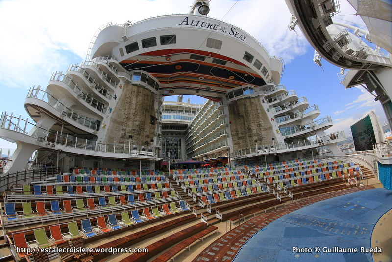 Allure of the Seas - Boardwalk - Mur d'escalade