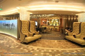 Allure of the Seas - Royal Promenade - Champagne bar