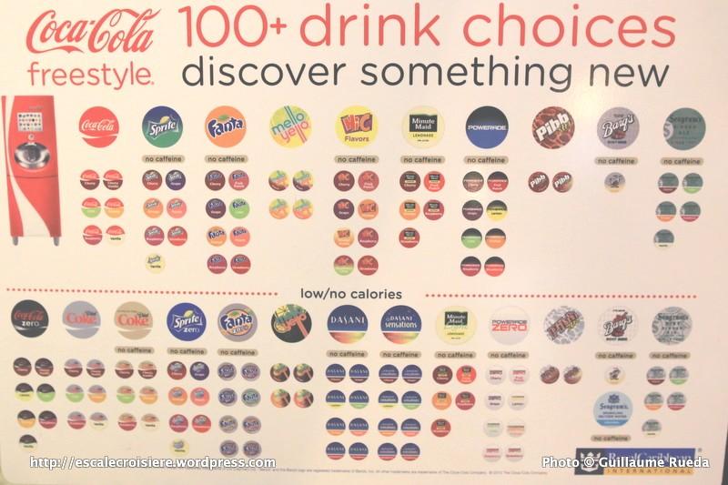 Royal Promenade - Distributeur de boissons
