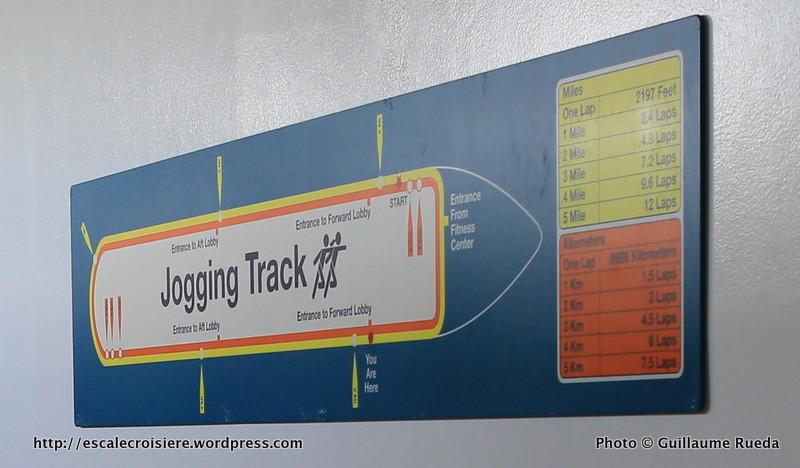 Allure of the Seas - Running track