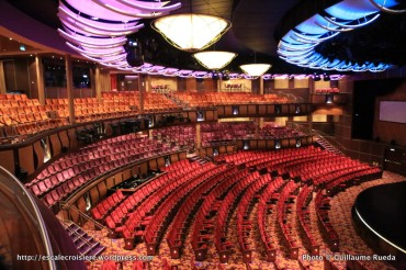 Allure of the Seas - Théâtre - Amber theater