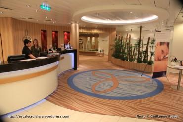 Allure of the Seas - Vitality at sea Spa & Fitness