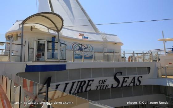 Allure of the Seas - ZipLine