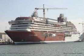 Crystal Serenity - Construction chantiers de l'Atlantique - Saint-Nazaire