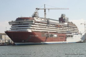 Crystal Serenity - Construction chantiers de l'Atlantique - Saint-Nazaire