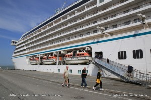 Crystal Serenity - Embarquement