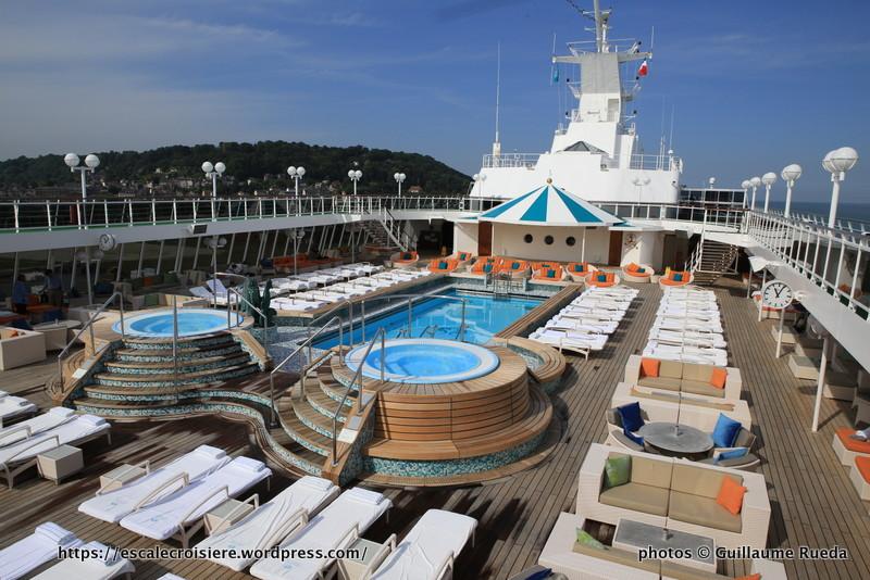 Crystal Serenity - Seahorse pool - Piscine extérieure