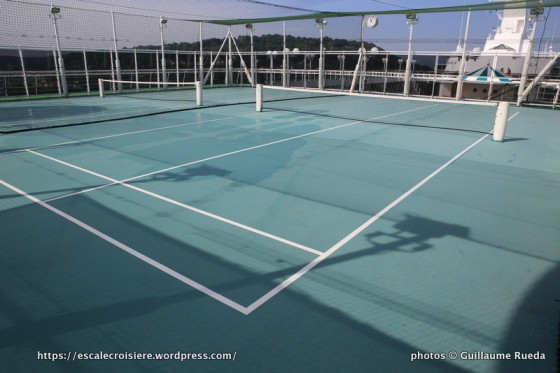 Crystal Serenity - Winbledon Paddle Tennis Courts