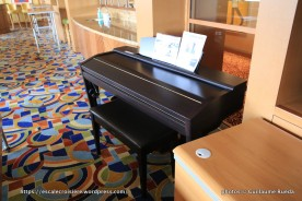 Crystal Serenity - Yamaha keyboard learning Center - piano