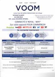 Tarifs Internet et mode de connexion - Allure of the Seas