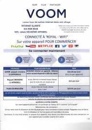 Tarifs Internet et mode de connexion - Allure of the Seas