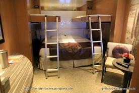 Costa neoRomantica - Cabine intérieure familiale - 7040
