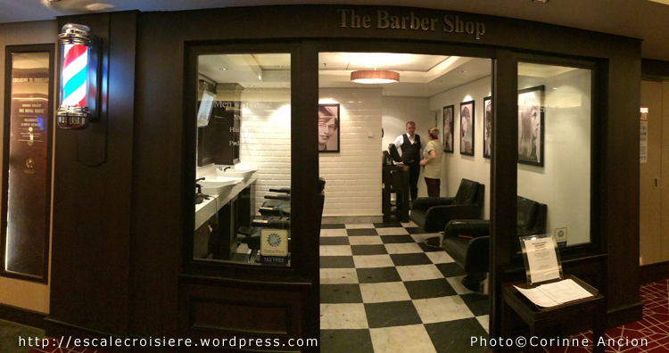 Norwegian Epic - Barber shop - Barbier