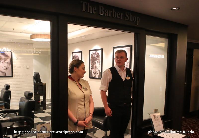 Norwegian Epic - Barber shop - Barbier