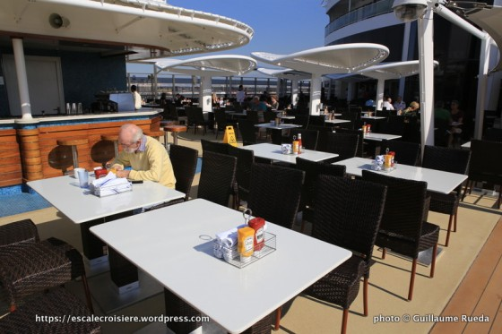 Norwegian Epic - Garden Café