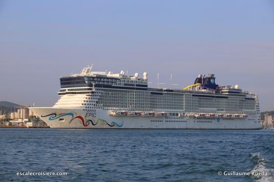 Norwegian Epic - NCL - Toulon - La Seyne sur Mer