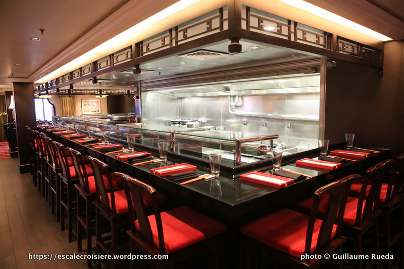 Norwegian Epic - Shanghai's and Noodle bar