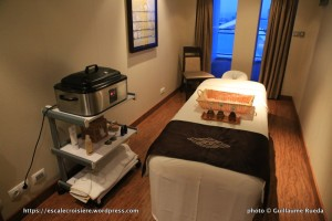 Norwegian Epic Spa - salle de massage