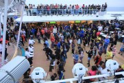 Norwegian Epic - Sur les ponts