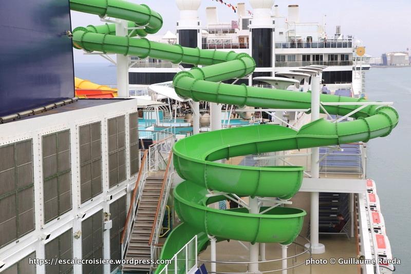 Norwegian Epic - Toboggans - Aquapark