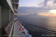 Norwegian Epic - Vue depuis le balcon - cabine 11311