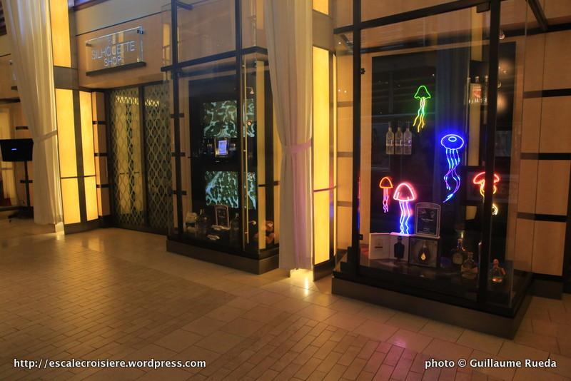 Celebrity Silhouette boutiques
