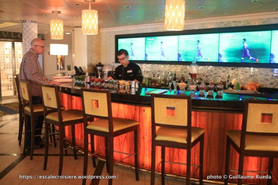 Celebrity Silhouette - Molecular Bar