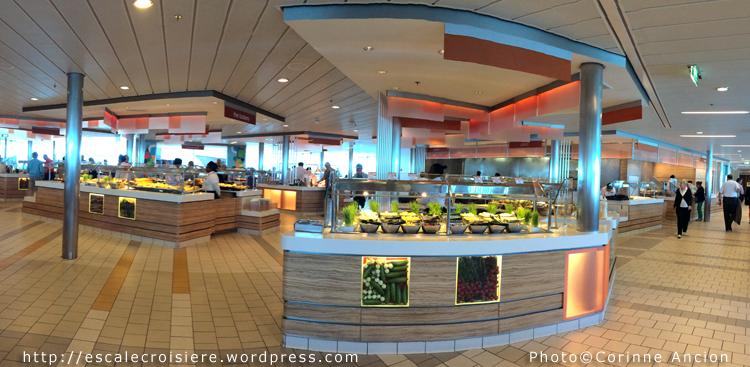 Celebrity Silhouette - Buffet Oceanview Café