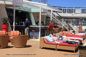 Celebrity Silhouette - Piscines extérieures - Pool bar